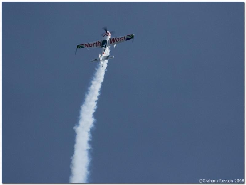 ysterplaat airshow smoke