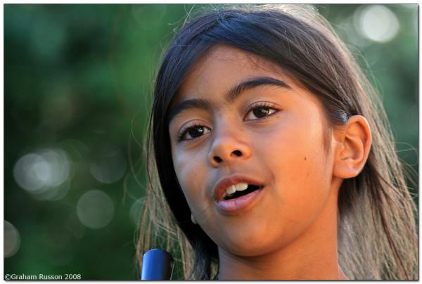 Portrait daughter