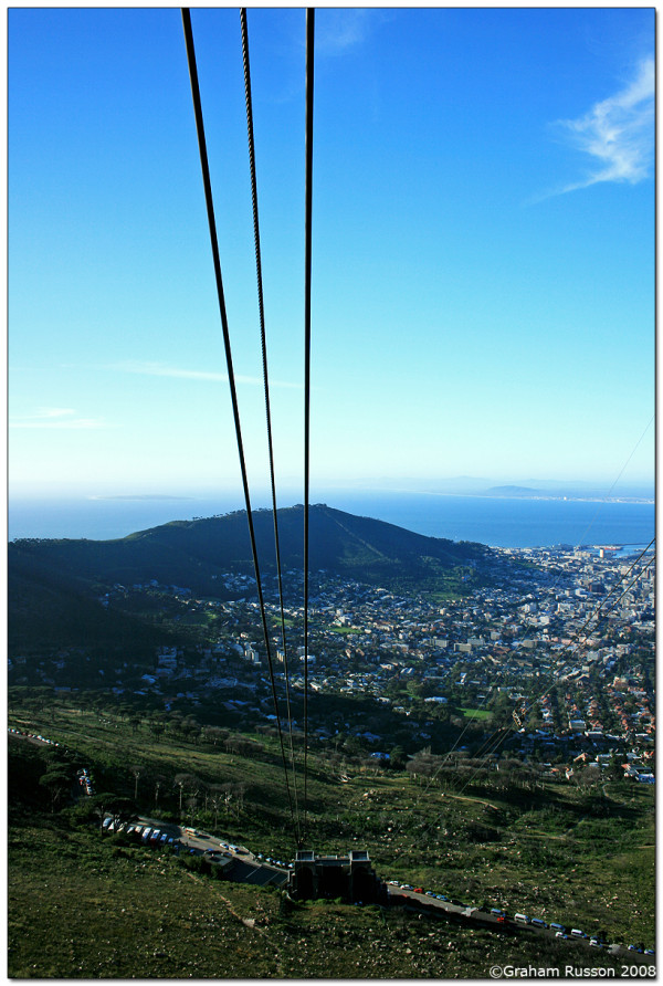 Table mouintain cable car