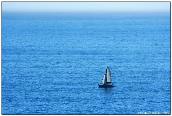 sailing hout bay