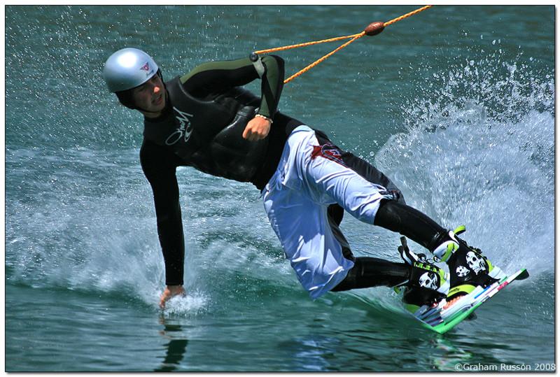 blue rock knee boarding