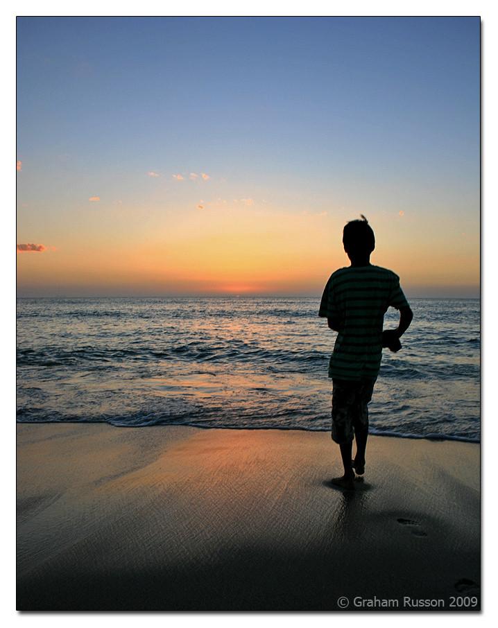 sunset beach blouberg