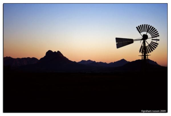 eensaamheid windmill mountain