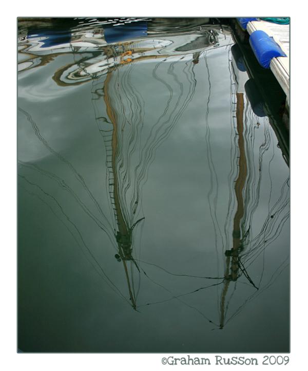 mast reflection