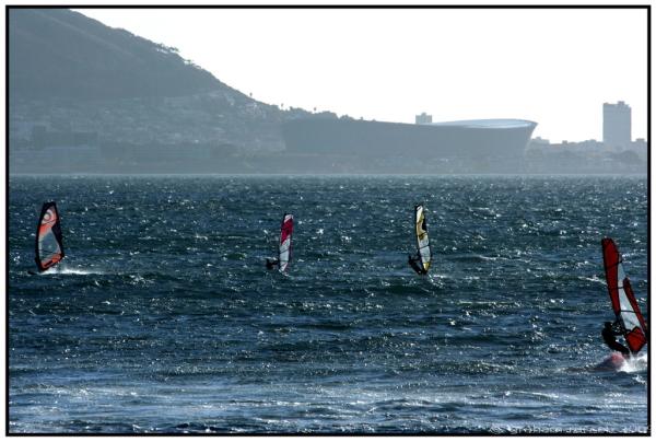 stadium wind surfer