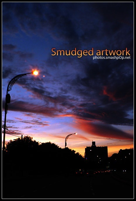 Smudged Artwork