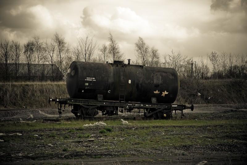 Old Rail Wagon