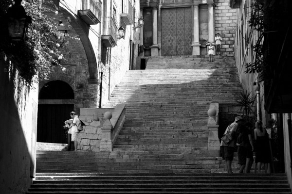 some stairs
