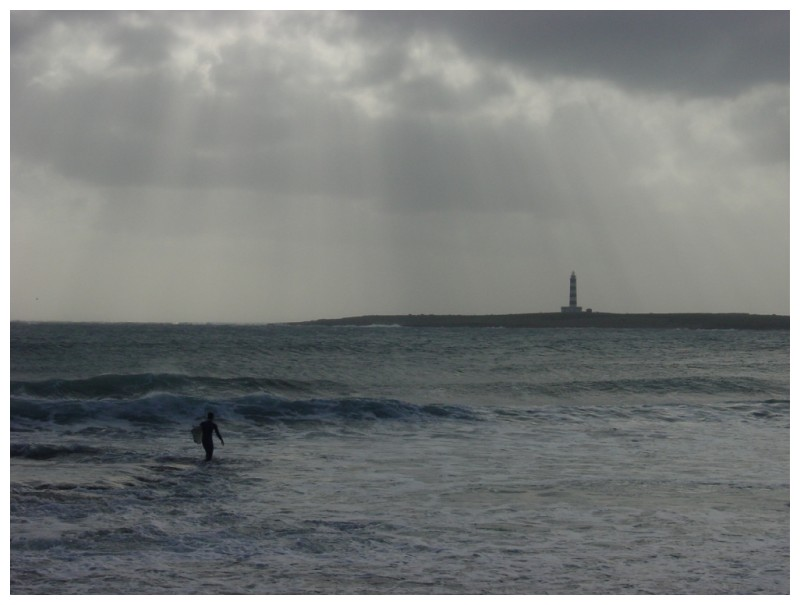 surfing in punta prima