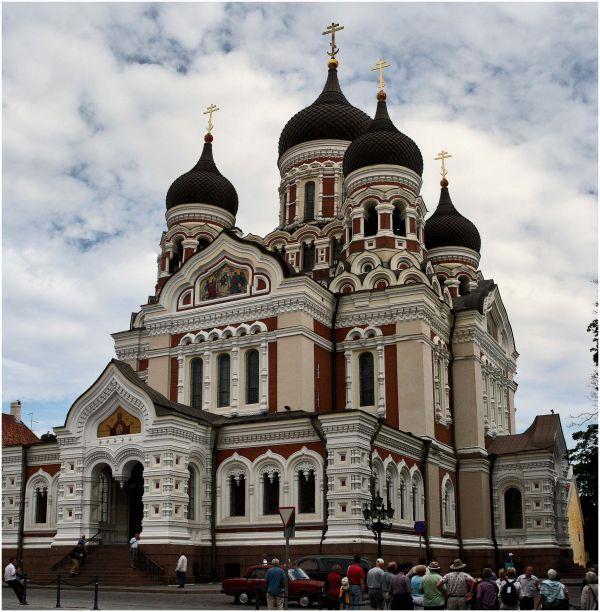 ortodox church in Tallin