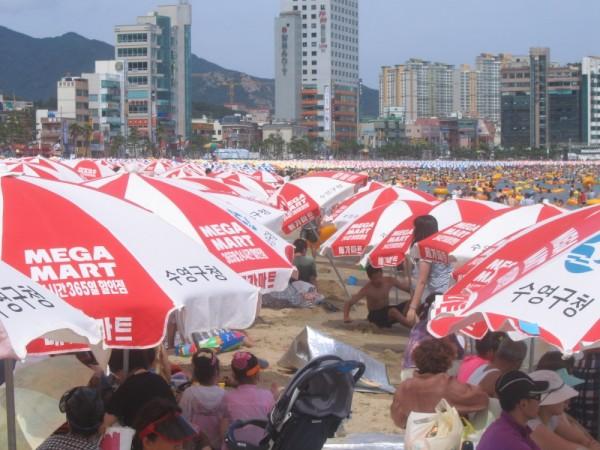광안리 beach