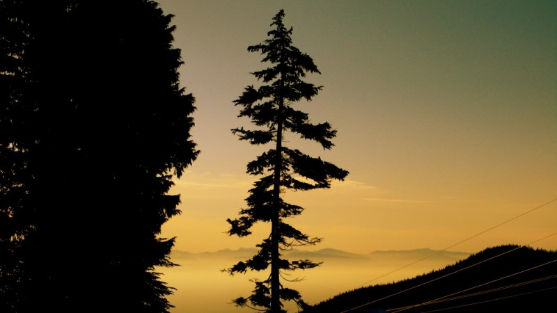 Sunset at Cypress Mountain