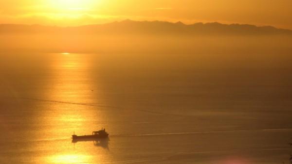 sunset tanker