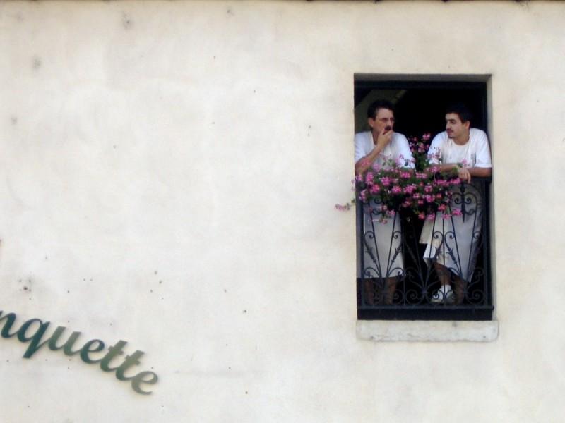 french chefs resting