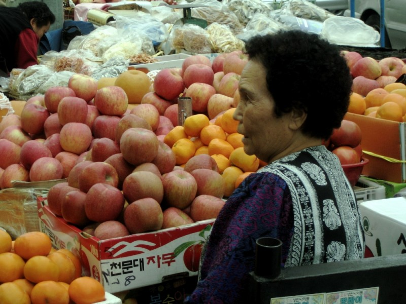 ajuma at market