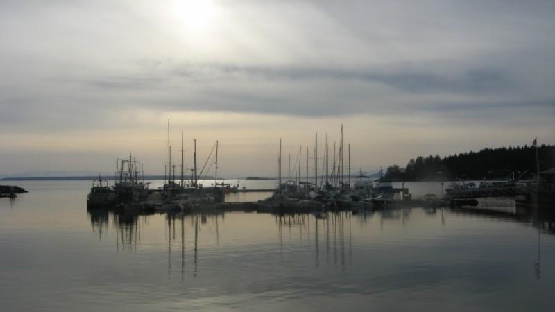 marina at twilight