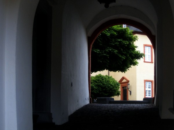 arch and window