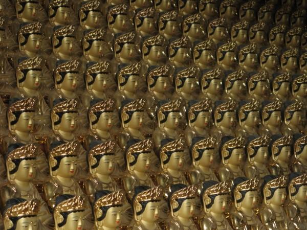 millions of buddhas