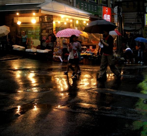 rain in seoul