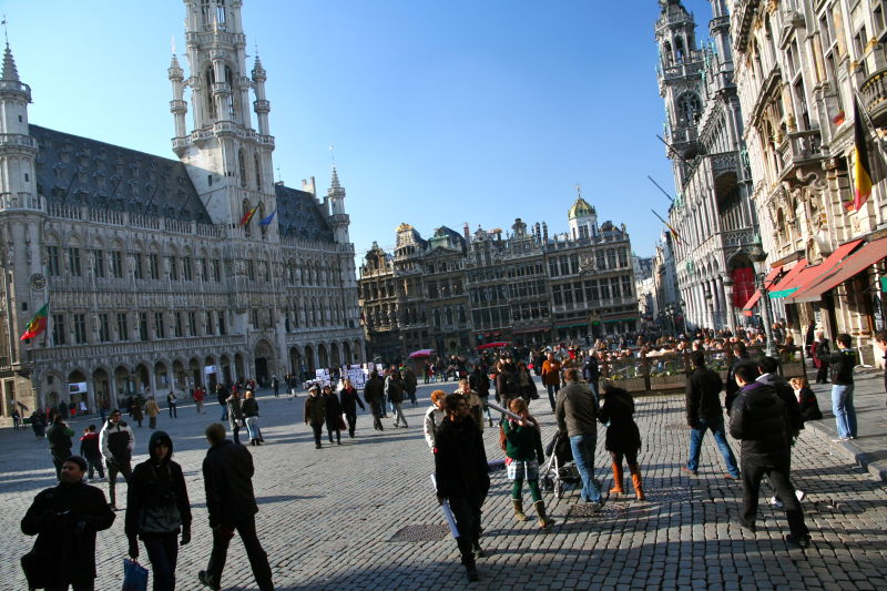 Early Spring Grand Place