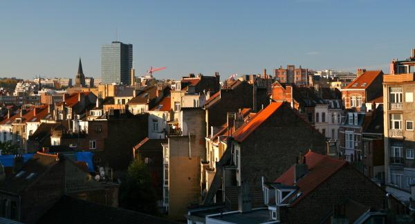 les toits de Bruxelles