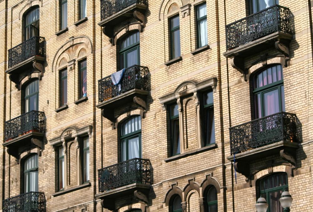 windows on Schaarbeek