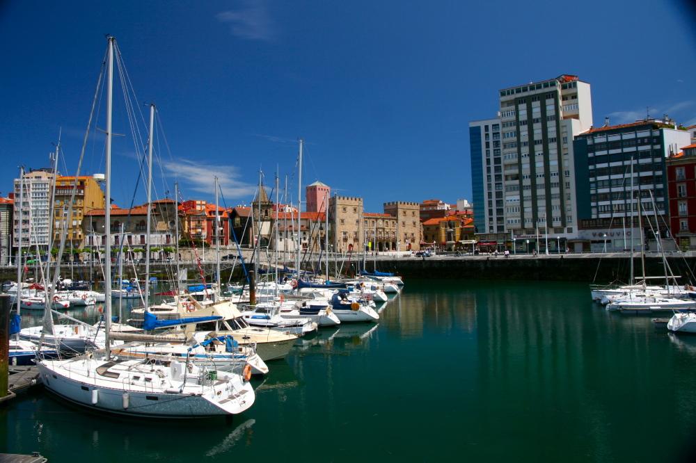bienvenido a Gijón