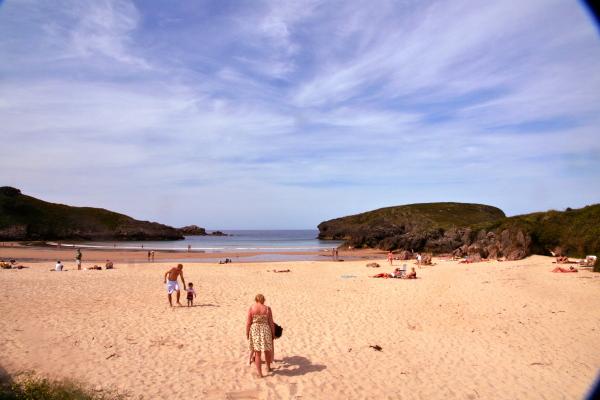 una playa classica