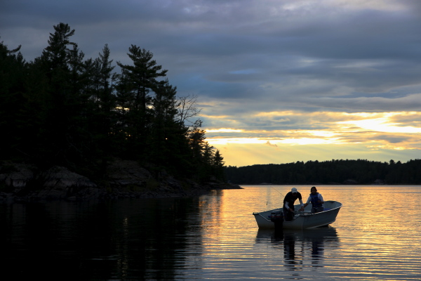 fishing French River
