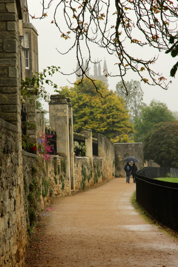 lover's lane: Oxford Style