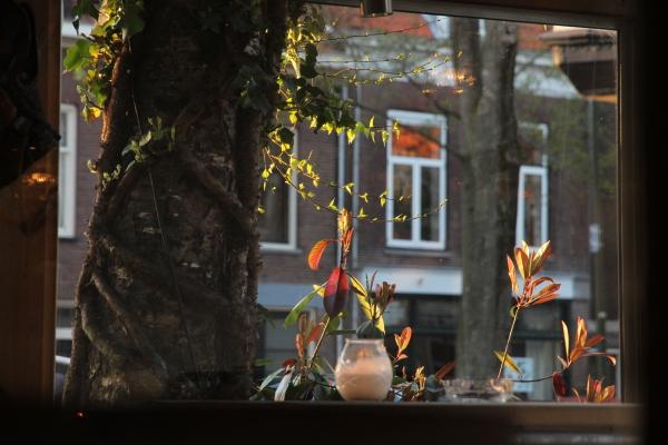 voorjaar diner in Delft