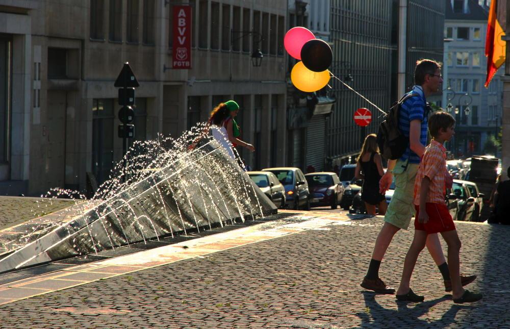balloons for belgium