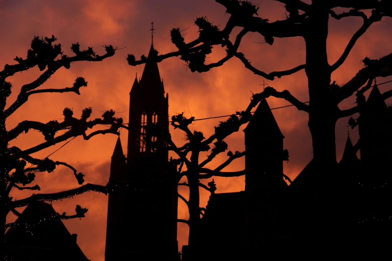 Maastricht sunset