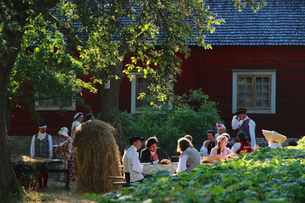 gammeldags Sverige