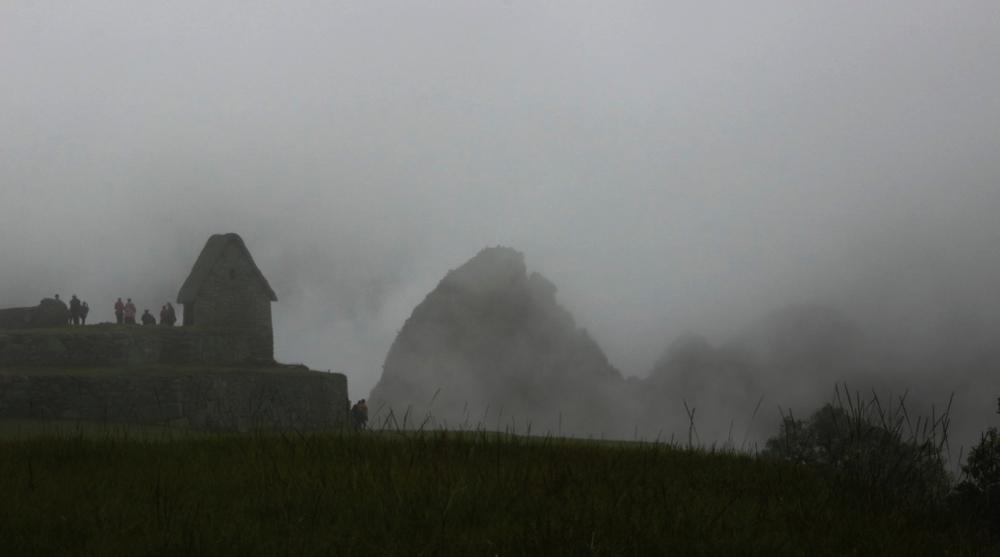 skyline: Machu Pichu edition