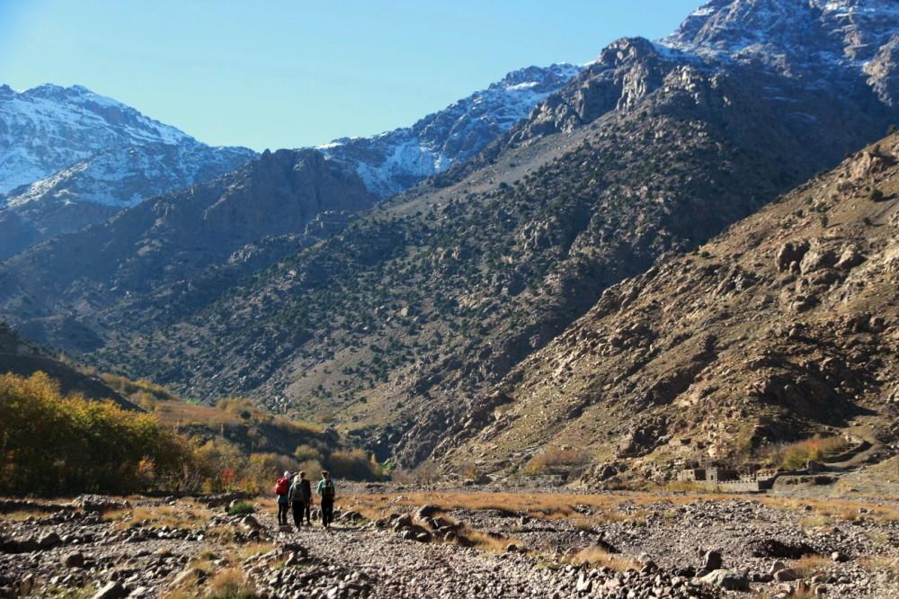 Into the Atlas Mountains