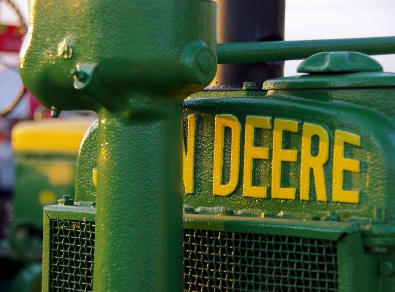 county fair - deere tractor