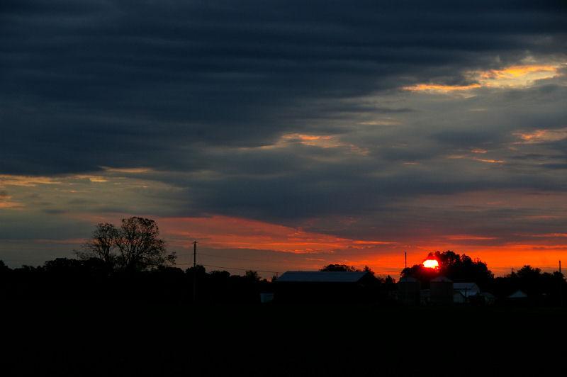 campout - sunrise