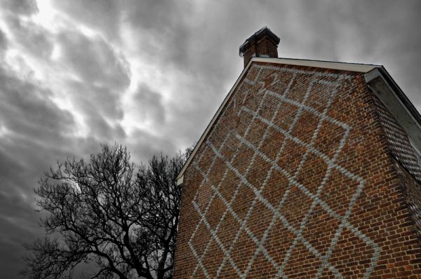 patterned brick: abel nicholson house