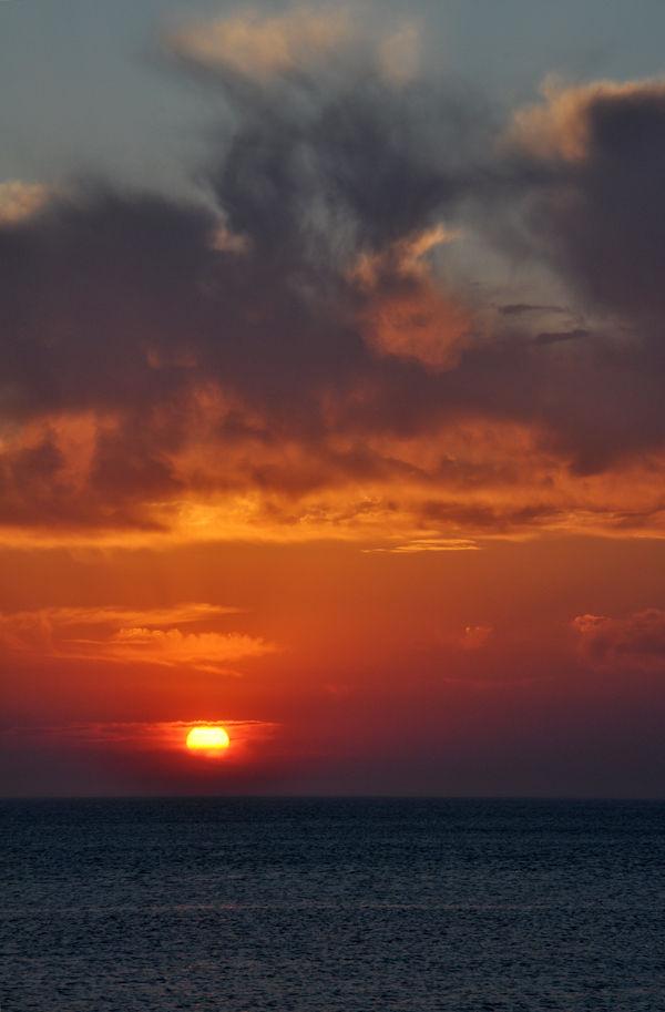 smith beach sunset