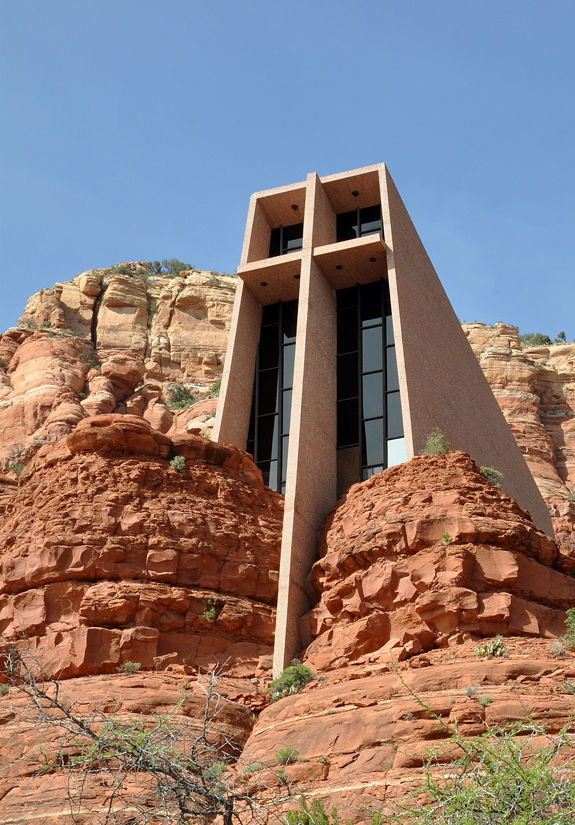 arizona: chapel of the holy cross