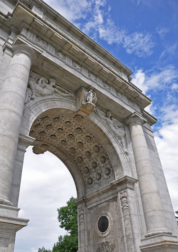 valley forge: memorial arch