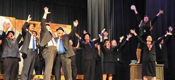guys and dolls: sit down you're rockin the boat