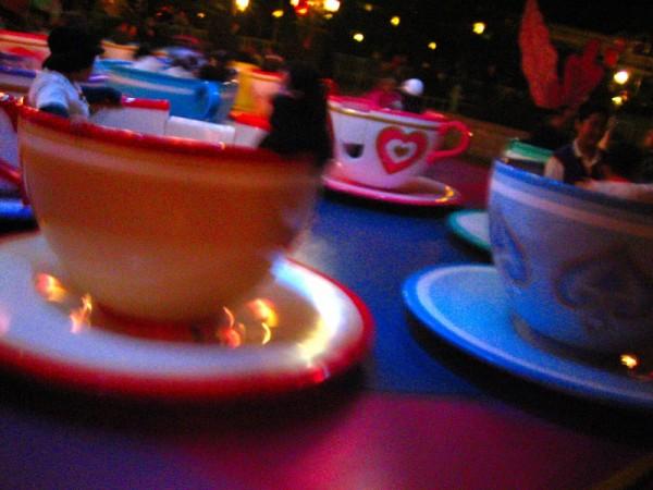 Teacups at Disneyland