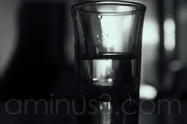 Life's litmus test! Half full or half empty?