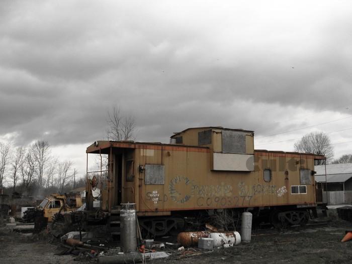 A junkyard