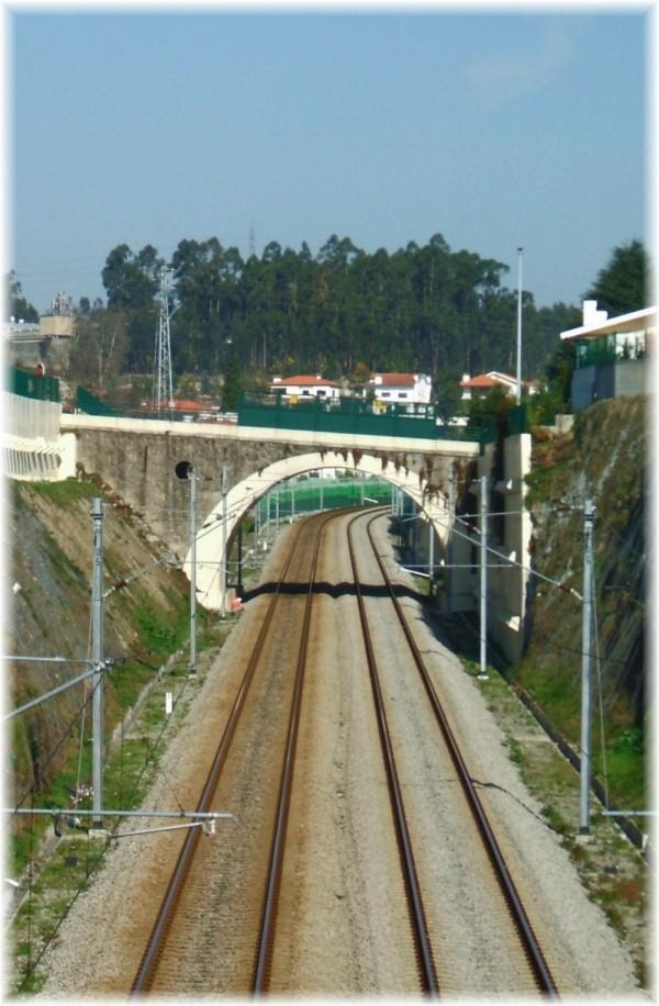 Arch railway