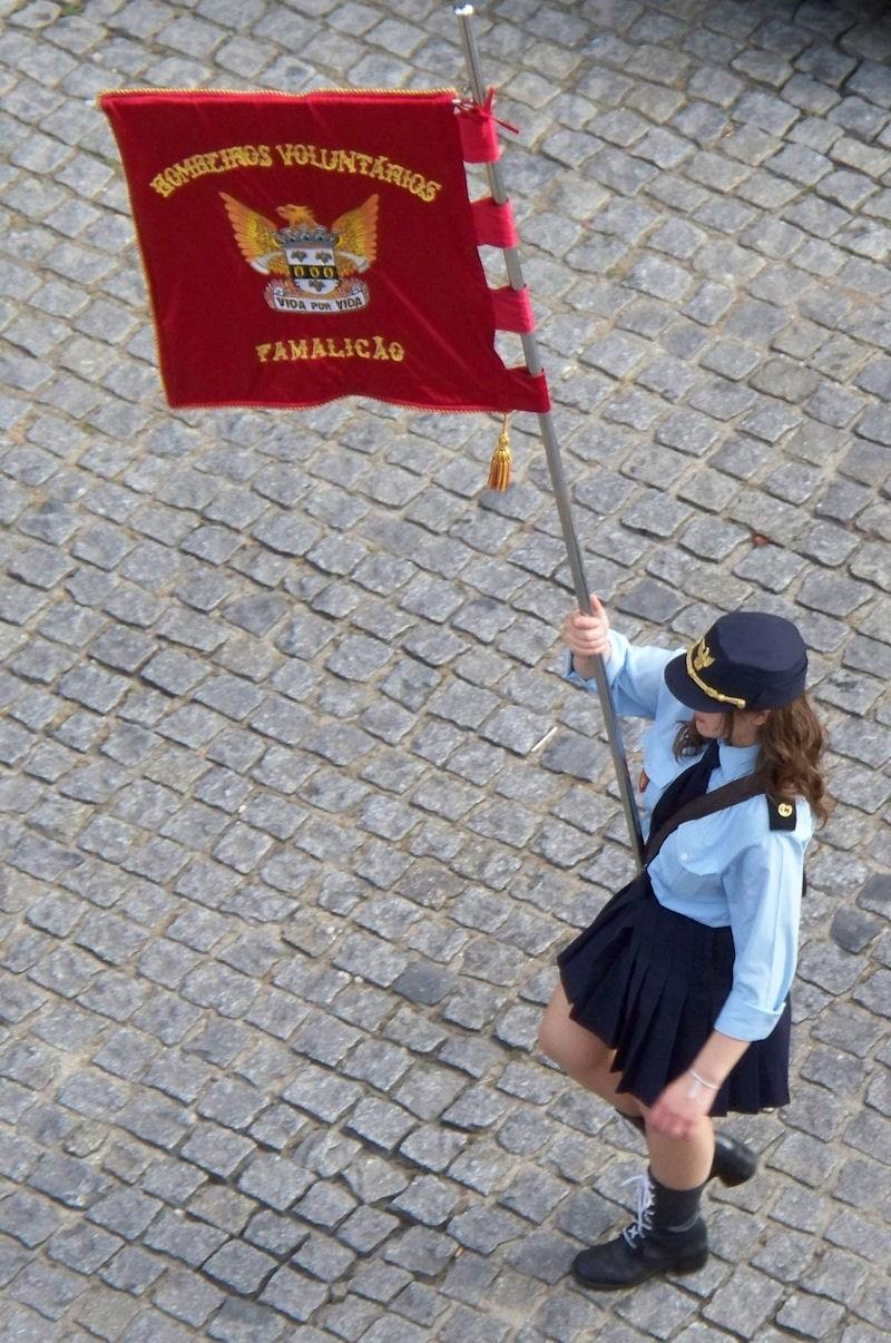 fireman parade Famalicão