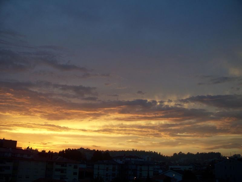 west sun