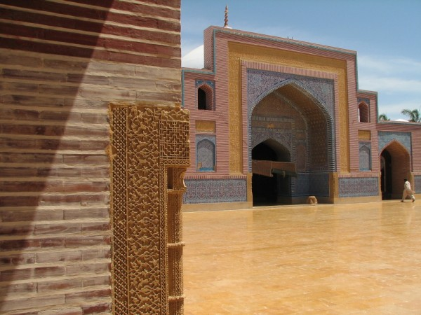 shahjehani Mosque Coutyard